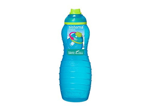 Sistema Davina 0.70 Litre Twist N Sip Sports Bottle 745 (One Only - Aqua. Pink Or Green)