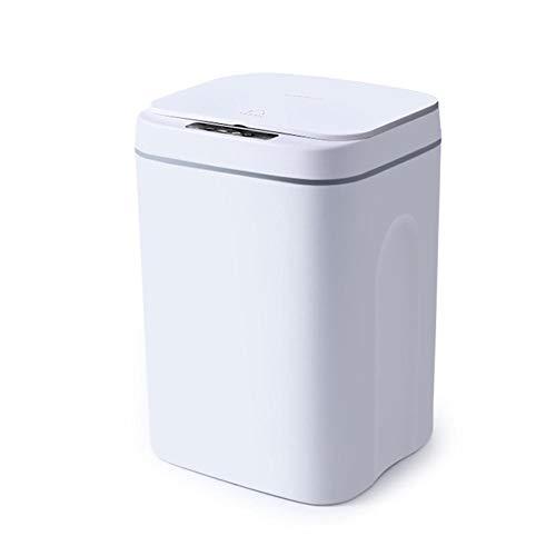N/W Automatischer Deckelöffner und Bewegungserkennungsaktivierung, selbstdichtend, automatischer Wechsel, Smart Home, elektrischer Mülleimer, geeignet für Küche, Bad, Büro, Schlafzimmer