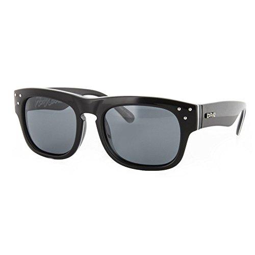 Carve King Cobra-Gafas de Sol, Black White/Polarized