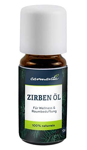 BIO Zirbenöl Ätherisches Öl aus Österreich - 100% Naturrein - Zirbelkieferöl (Pinus Cembra) mit Zirbe/Zirben Duft für Diffuser, Aromatherapie, Sauna oder Raumduft