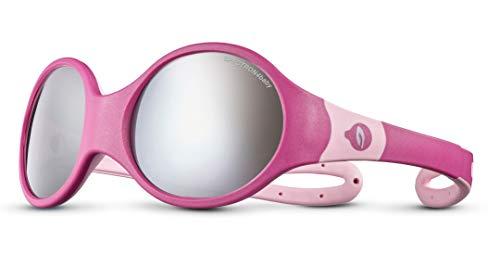 Julbo Loop L - Gafas de sol para niña, color fucsia y rosa, FR: XXS (talla del fabricante: 3-5 años)
