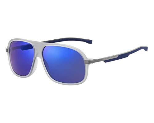 Hugo Boss 1200/S 203367-RIW/XT-63 - Gafas de sol para hombre, color gris
