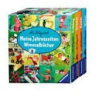 Meine Jahreszeiten Wimmelbücher-- 4 Bände-- Frühling/Sommer/Herbst/Winter