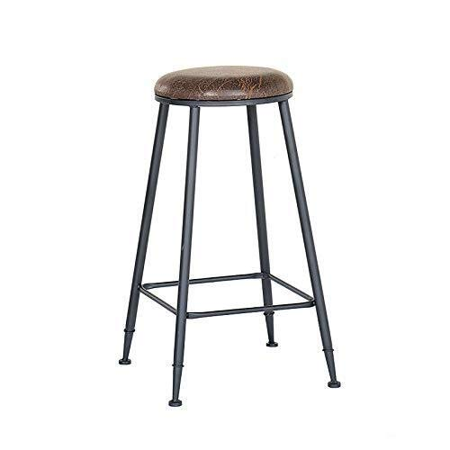 WWW-DENG barkruk, metaal, barkruk, zonder rugleuning, 29,5 inch, kruk, terras binnen en buiten, meubels, keuken, barkruk