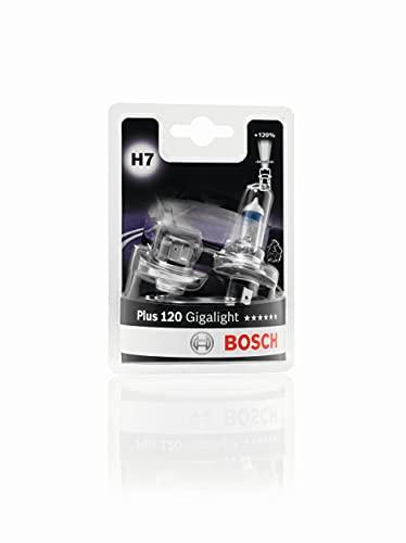 Bosch H7 Plus 120 Gigalight lampadine faro - 12 V 55 W PX26d - lampadine x2