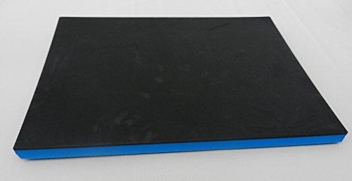 (64,95 €/m²) Werkzeugeinlage schwarz/blau (ca. 400 x 500 x 30 mm) Systemeinlage Universaleinlage