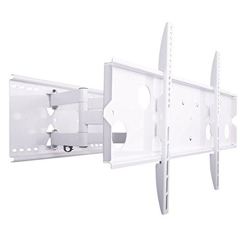 NEG Profi VESA Universal TV-Wandhalterung Extender 5015 Big Screen speziell für große Fernseher (weiß) Schwenk-, neig- und ausziehbar, Full Motion
