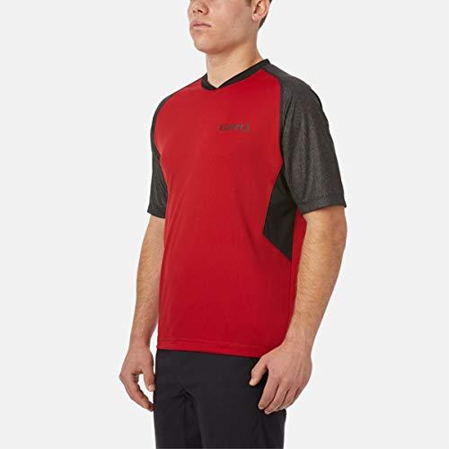 Giro Unisex Men's Xar Jersey Ss, dunkelrot, Größe S