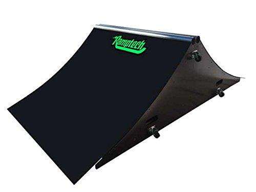 Ramptech 2' Tall x 4' Wide Spine Skateboard Ramp