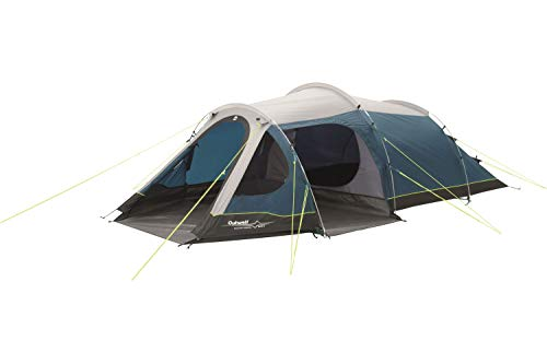 Outwell Earth 2 Person Tunnel Tent Beige, Black, Navy