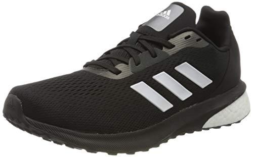 adidas Astrarun, Scarpe da Jogging Uomo, Noir Blanc Noir, 38.5 EU