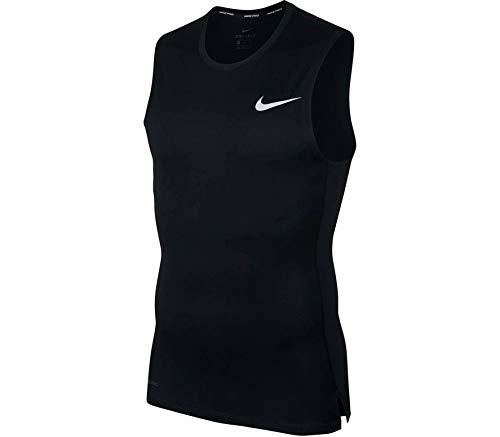 Nike Pro Bv5600-010 - Camiseta de compresión -  Negro -  Medium