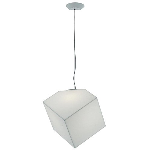 Artemide Edge 30 Lampada da Sospensione, Bianco