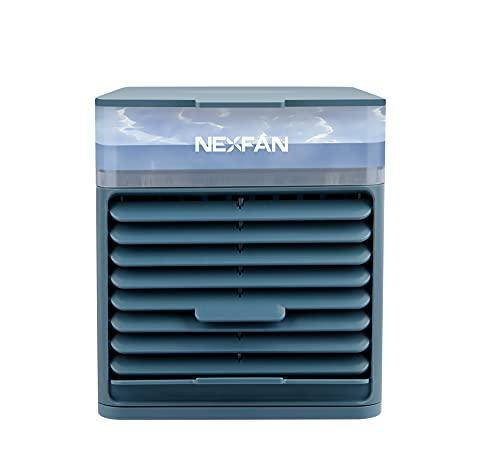 TENKY 4 in 1, climatizzatore portatile, piccolo condizionatore evaporativo, ventola di raffreddamento con 3 velocità per casa, ufficio, campeggio