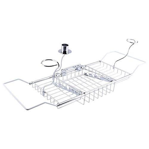 XHLLX Extendable Bathtub Caddy Tray,Bath Racks,Bath Tub Racks Shower Organizer