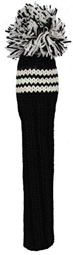 Sunfish Fairway Headcover, Black/White