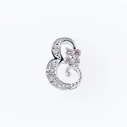 ピンクダイヤモンドペンダントヘッド 計0.05ctUP & ダイヤモンド計0.03ctUP [18KWG] 専用ケース付