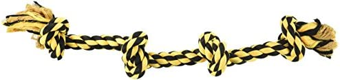 Multipet Nuts for Knots Long 4 Knot Rope Dog Toy product image