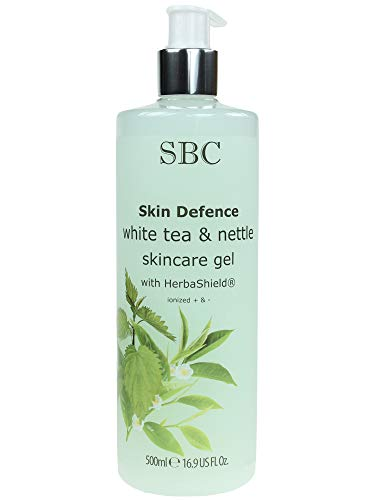 SBC Skin Defence White Tea and Nettle Skincare Gel with HerbaShield 500ml