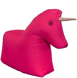 Sitting Bull - Happy Zoo - Einhorn - Pink - 100% Polyester - (LxBxH): 73 x 30 x 50 cm - streng Limitierte Sonderedition