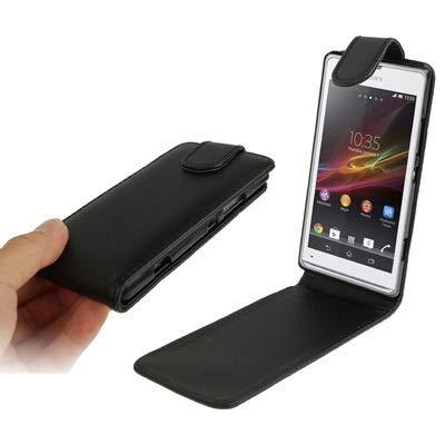 Liaoxig Fundas Sony Funda de Cuero con Tapa Vertical en Color Puro for Sony Xperia SP / M35h Fundas Sony