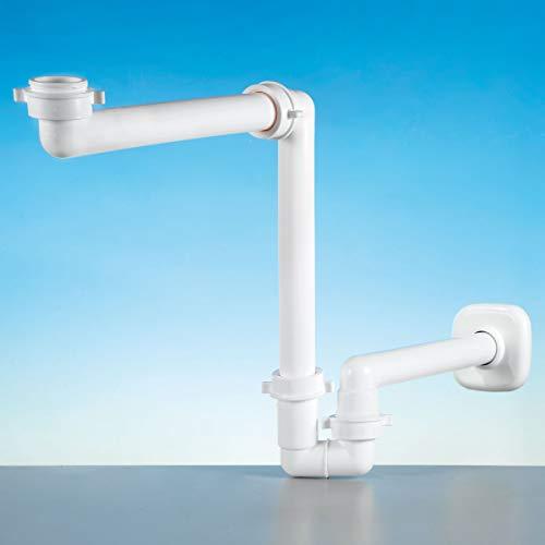 LIRA A.1115.70 Raumspar Siphon 5/4' x DN40   für Waschtisch Unterschrank oder Waschbecken