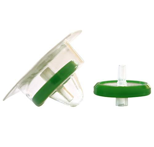 Simsii Sterile Syringe Filters, PES Membrane, Diameter: 25mm, Pore Size: 0.22 um, 50 Packs/Package