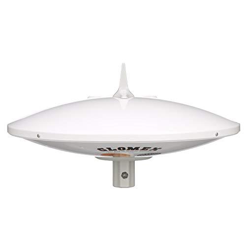 Seachoice 19630 Marine Omnidirectional TV Antenna – Analog and Digital – 14 Inch Diameter – Adjustable Gain Control