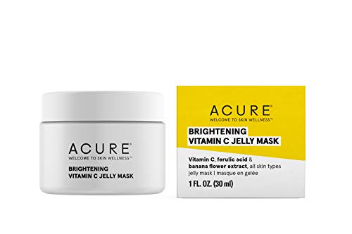 Acure Brightening Vitamin C Jelly Mask, 1 Fl Oz
