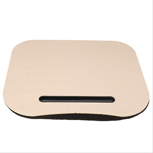 3Color Desk Bed Cushion Knee Lap Handy Computer Reading Writing Table Tablet Tray Cup Holder Laptop Stand Pillow Office Desk Set 3