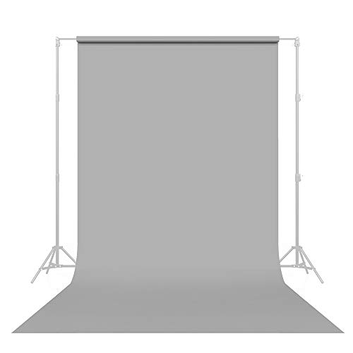 Savage Seamless Paper Photography Backdrop - #60 Focus Gray (86 in x 36 ft) Made in USA