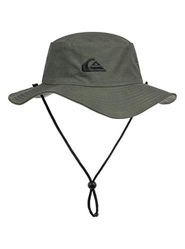 Quiksilver Bushmaster - Gorro De Pescador para Hombre Hat, Hombre, Thyme, S/M