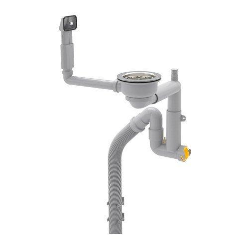 IKEA LILLVIKEN Siphon für 1 Becken