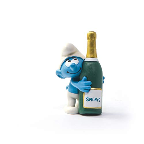 SCHLEICH 20821 Schlumpf mit Flasche The Smurfs
