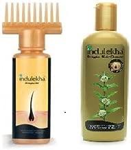 Combo - Set of of Indulekha Bringha Hair Oil 100 Ml AND Indulekha Bringha Anti Hair Fall Shampoo (Hair Cleanser) 200ml, 6.76 oz