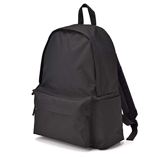 Muji Shoulder Comfort Water Repellent Rucksack, Black