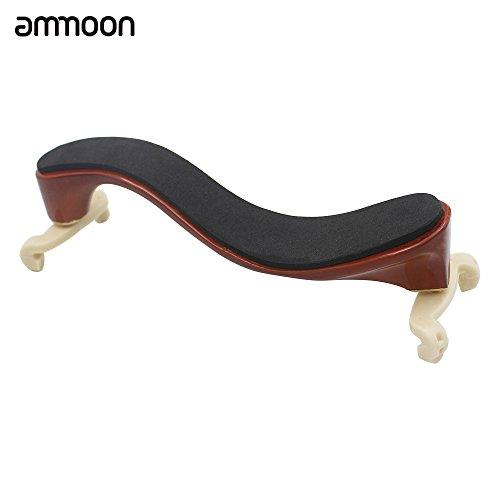 Violine Schulterstütze / Schulterpolster aus Ahornholz,ammoon Wird mit Einem Reinigungstuch Geliefert, das für 3/4 4/4 Violinen Geeignet ist