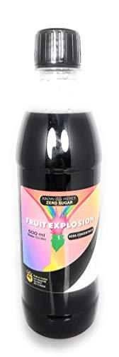 Zero Zucker Fruchtexplosion Limonadenkonzentrat - 500 ml - geben 12,5 liter softdrink