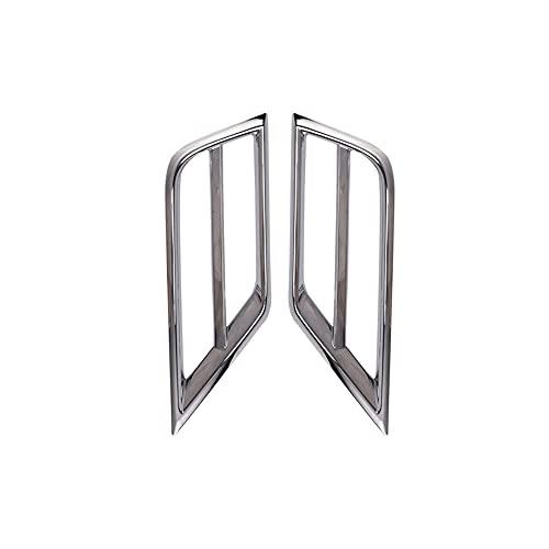 Clip de ajuste de la cubierta de ventilación de aire de la lámpara antiniebla del parachoques delantero del coche, Fog Light Assemblies accesorios de estilo automático para Tiguan 2 MK2 2016 2017 2018
