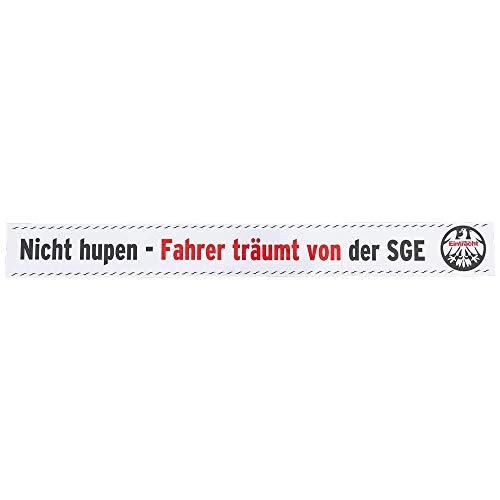 Eintracht Frankfurt Autoaufkleber Nicht hupen, Sticker, Aufkleber SGE - Plus Lesezeichen I Love Frankfurt