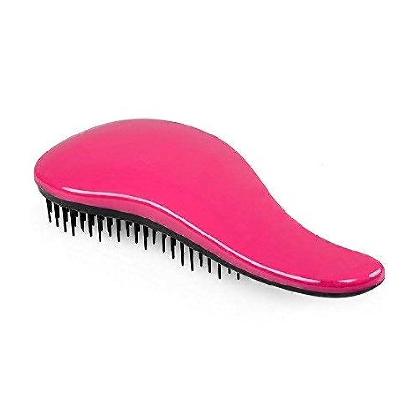 化粧マトロン気性ShenTengDa Detangling Brush Glide The Best Detangler Wet Shower Comb for Women/Men/Kids/Girls/Boys, Use for Wet and Dry Hair, Pink [並行輸入品]