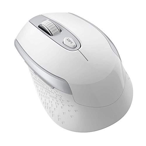 Cimetech Mouse Wireless, Silenziosi 2.4G con Ricevitore Nano e Mouse Ergonomico, 1600 DPI con 3 livelli regolabili, per Windows 10/8/7/XP/Air/HP/Acer