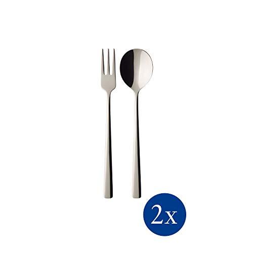 Villeroy & Boch - Daily Line Specials Spaghetti-Set, 4 tlg., 26,5 x 8,5 x 3 cm, Edelstahl, spülmaschinengeeignet