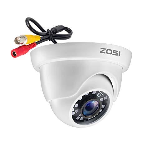 ZOSI 1080P 4-in-1 Überwachungskamera für Heimsicherheit, 24 IR-LEDs, 3,6 mm Objektiv, IP66, wetterfest, 24,4 m Nachtsicht