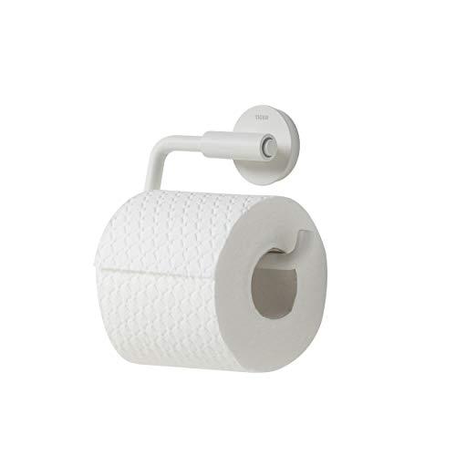 Tiger Urban Toilettenpapierhalter schwenkbar, Farbe: Weiß, mit austauschbaren Dekor-Ringen zur individuellen Gestaltung
