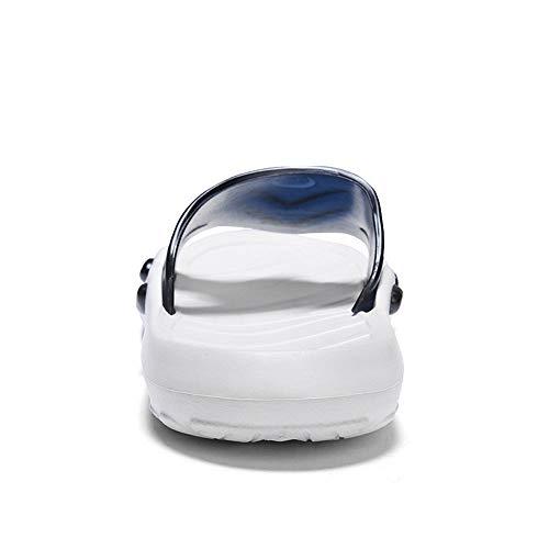 ZehentrennerGezeitenpantoffeln Männer tragen koreanische Sätze von Fußsandalen und Hausschuhen außerhalb der Sommerjungen Modepersönlichkeit dicken Boden Strand Bad Flip Flops-Standard Sportschuh SI