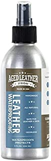 Aged Leather Pros Leather Waterproofing (8 oz) for Suede, Nubuck, and Any Leather | Protects Purses, Shoes, Jackets, Couches, Auto Interior, Saddles and Much More