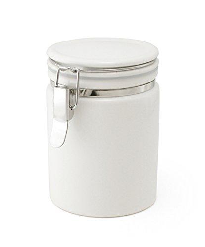 ZEROJAPAN tea canister 100 white TEA-100 WH