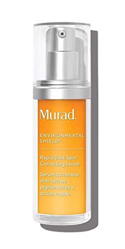 Murad Environmental Shield Rapid Dark Spot Correcting Serum – Daily Dark Spot Serum for Pigment/Skin Lightening - Brightening, Soothing Facial Serum – Dark Spot Corrector, 1.0 Fl Oz