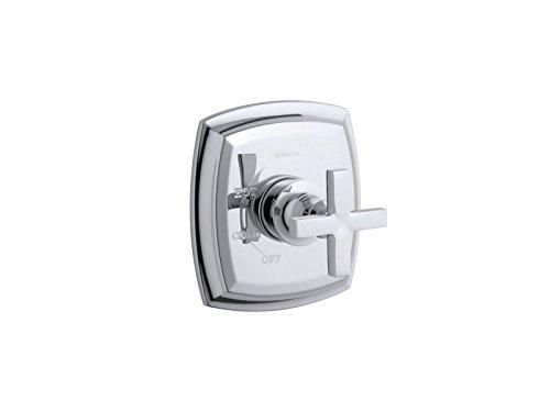 KOHLER TS16235-3-CP Margaux(R) Rite-Temp(R) valve trim with cross handle, Polished Chrome